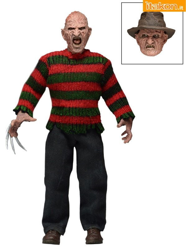 [NECA] Mego Action Figures | A Nightmare On Elm Street 2: Freddy's Revenge - Freddy Krueger NOES2-Freddy-Krueger-Retro-Figure-1