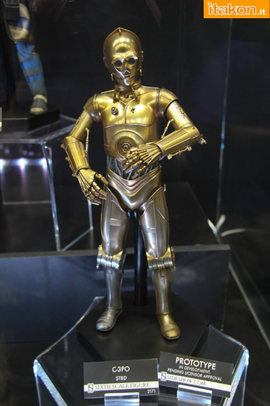 [Sideshow] Star Wars: C-3PO Sixth Scale Figure Preview-Night-Sideshow259