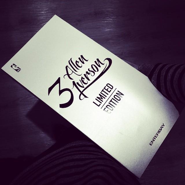 [Enterbay] NBA Legend Series: Allen Iverson (Sixers) | 1/6 scale A49