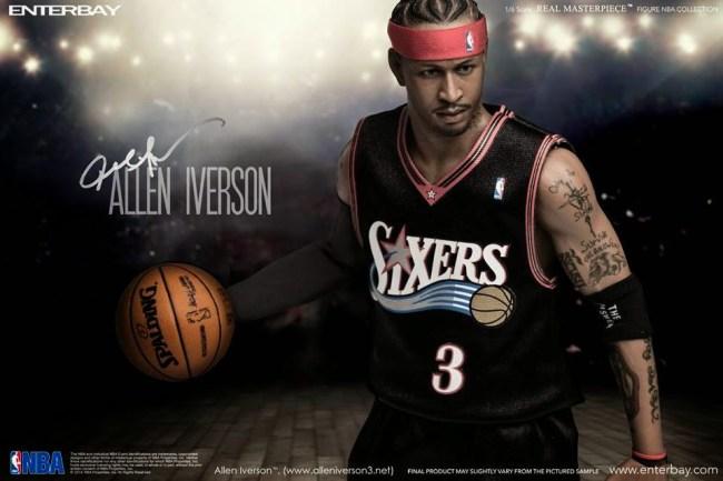 [Enterbay] NBA Legend Series: Allen Iverson (Sixers) | 1/6 scale V86-1-1