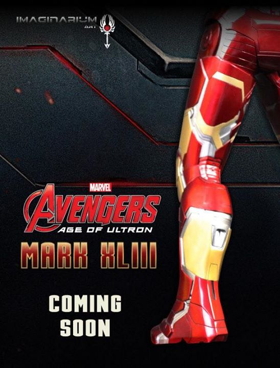 [Imaginarium Art] Avengers: Age of Ultron: Iron Man Mark XLIII  Z1q85