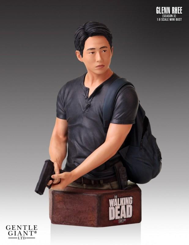 [Gentle Giant] The Walking Dead: Glenn - Mini Bust  Gential-Giant-Walking-Dead-Glenn-Mini-Bust-2