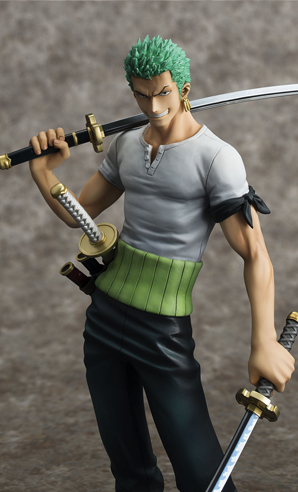 [Megahouse] Portrait of Pirates DX | One Piece - Roronoa Zoro (10th Limited Ver.) - Página 2 Roronoa-zoro-10th-limited-megahouse-foto-uff-2