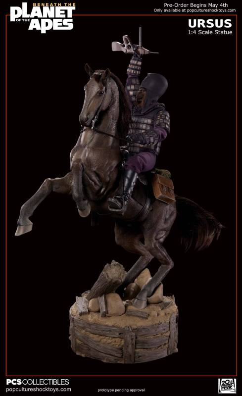[Pop Culture Shock] Beneath the Planet of the Apes: General Ursus on Steed 1/4 1214