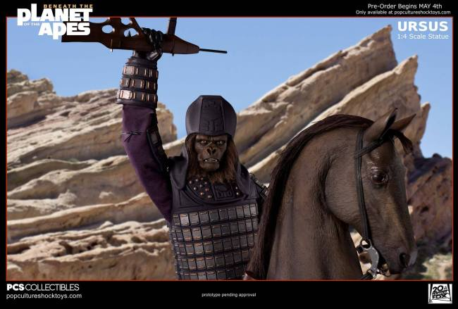 [Pop Culture Shock] Beneath the Planet of the Apes: General Ursus on Steed 1/4 2311