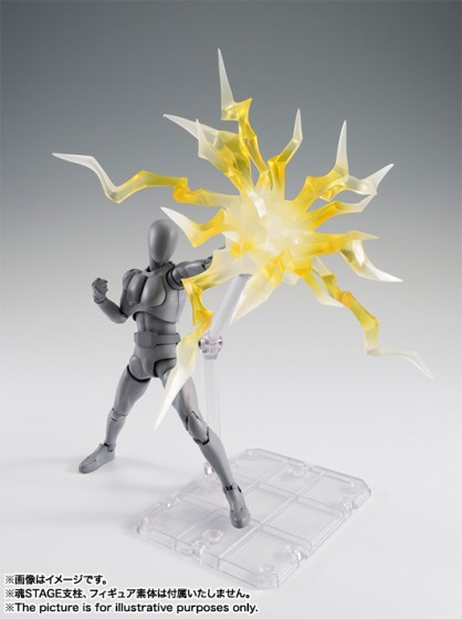 thunder effect - yellow - blue - bandai - info preordini - 11