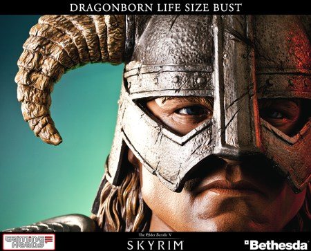 Gaming Heads Dragonborn Life Size Bust (8)