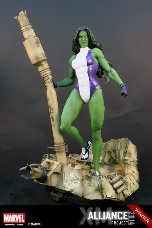 Premium Collectibles : She Hulk - Page 2 XM-Studios-She-Hulk-2