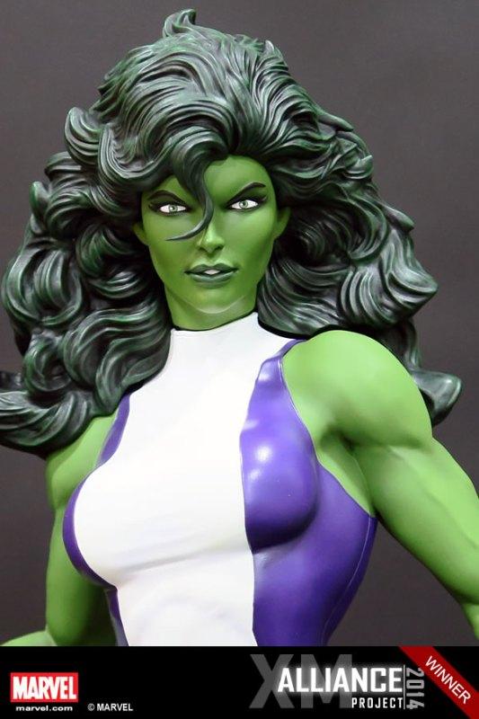 Premium Collectibles : She Hulk - Page 2 XM-Studios-She-Hulk-3