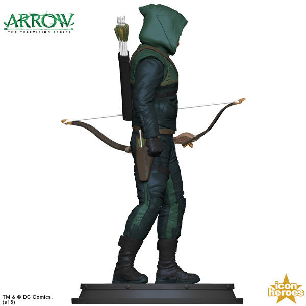 [Icon Heroes] TV Series Statue: Arrow - Season 1 Arrow-TV-Series-Statue-Paperweight-2