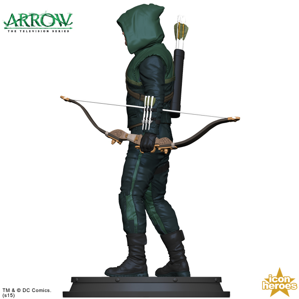 [Icon Heroes] TV Series Statue: Arrow - Season 1 Arrow-TV-Series-Statue-Paperweight-4