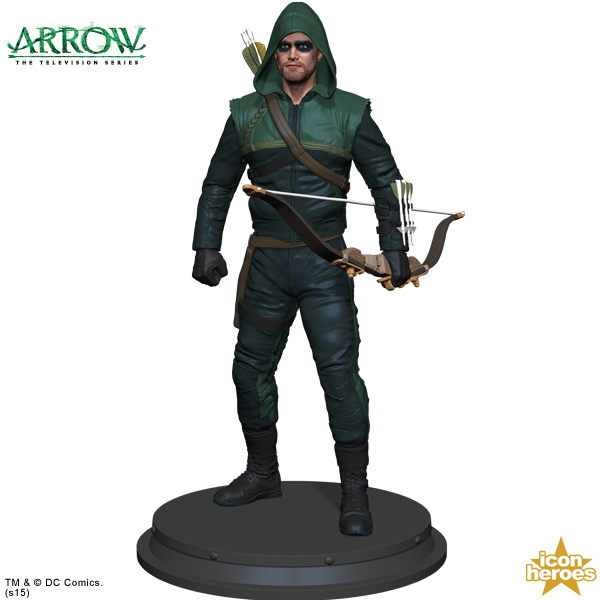 [Icon Heroes] TV Series Statue: Arrow - Season 1 Arrow-TV-Series-Statue-Paperweight-5