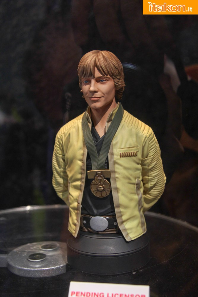 STAR WARS: LUKE SKYWALKER HERO OF YAVIN MINI BUST Gentle-Giant-55