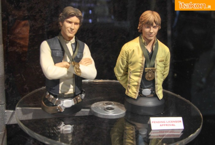 STAR WARS: LUKE SKYWALKER HERO OF YAVIN MINI BUST Gentle-Giant-59