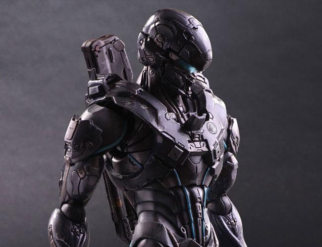 Halo 5 Guardians Spartan Locke - Play Arts Kai Square Enix pre 20