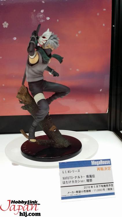 """Kakashi Hatake linea G.E.M. da """"Naruto Shippuden"""""""
