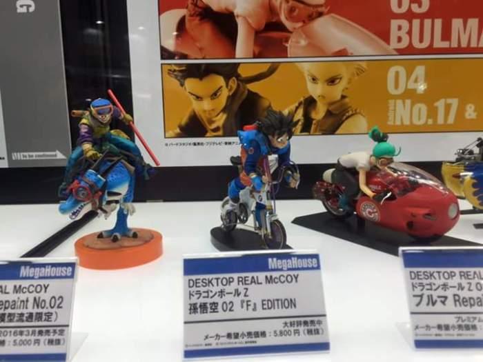 "Esposizione linea Desktop Real McCoy da ""Dragon Ball Z"""