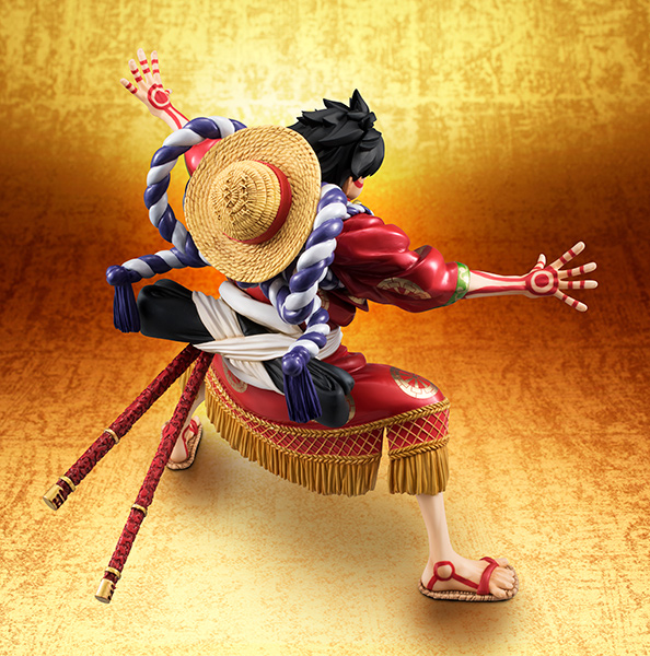 Monkey D Luffy Kabuki POP - One Piece MegaHouse pre 09
