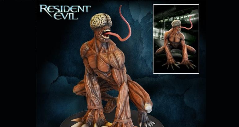 Resident-Evil-Licker-Statue-001