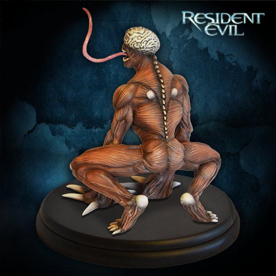 Resident-Evil-Licker-Statue-005