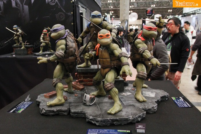 Wonder Fest. 2016 Winter: Turtles e Transformers allo stand Prime 1 Studio