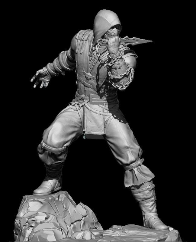 """Scorpion da """"Mortal Kombat X"""""""