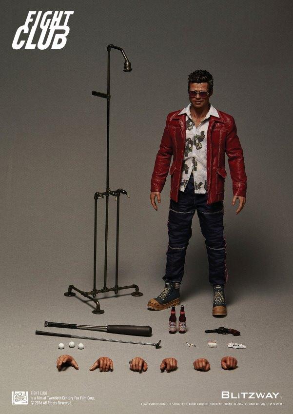 """[Blitzway] Fight Club - Tyler Durden """"Red Jacket Ver."""" 1/6 12523941_1169402159761441_413429723734541940_n"""