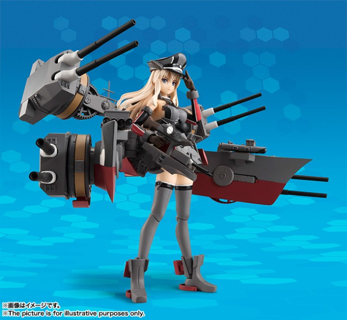Bismarck AGP - Kantai Collection - Bandai info pre 01