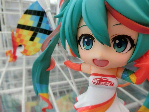 Miku Hatsune Racing 2016 Nendoroid foto colorato 05