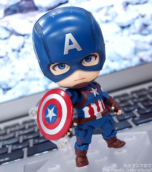 Nendoroid Captain America - Avengers - Good Smile Company gallery 01