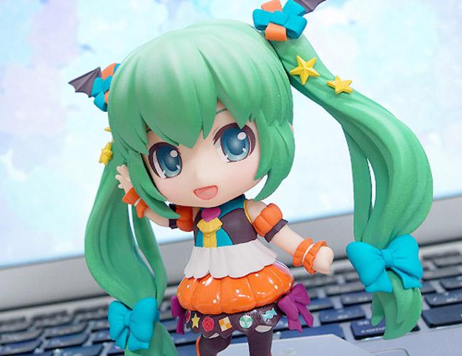 Miku Pumpkin Co-de GSC Nendoroid pics 20