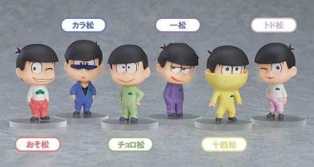 Osomatsu-san mini figures Orange Rouge WF2016S pics 01