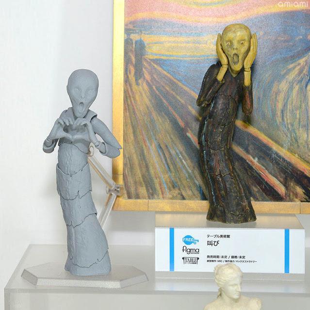 The Scream (Skrik) per la la linea Table Museum