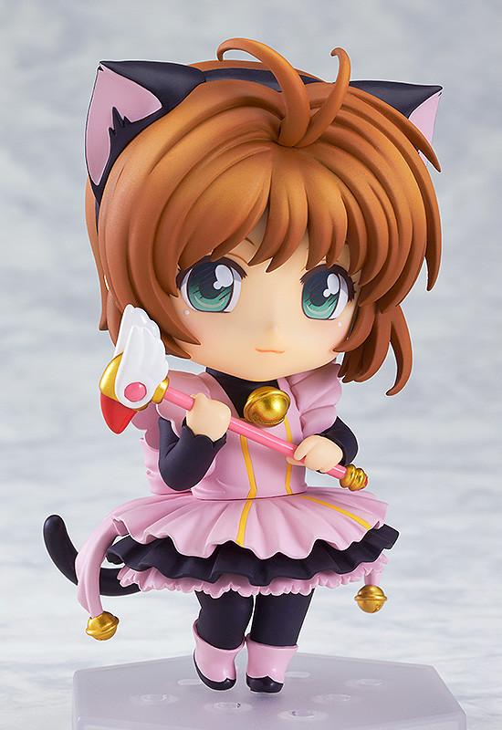 Nendoroid Co-de Sakura Kinomoto Black Cat Maid GSC pre 01