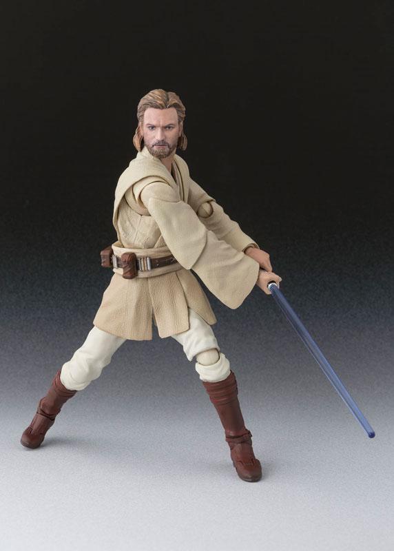 Obi-Wan Kenobi SH Figuarts Star Wars Bandai pre 04