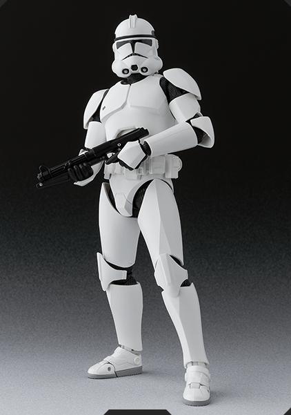 Star Wars Clone Trooper SH Figuarts Bandai pics 01