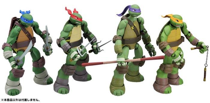 TMNT Revoltech Donatello Kaiyodo Preorder 06