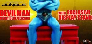 Jungle annuncia il nuovo Devilman Night Blue esclusivo per Romics e Lucca Comics & Games 2016