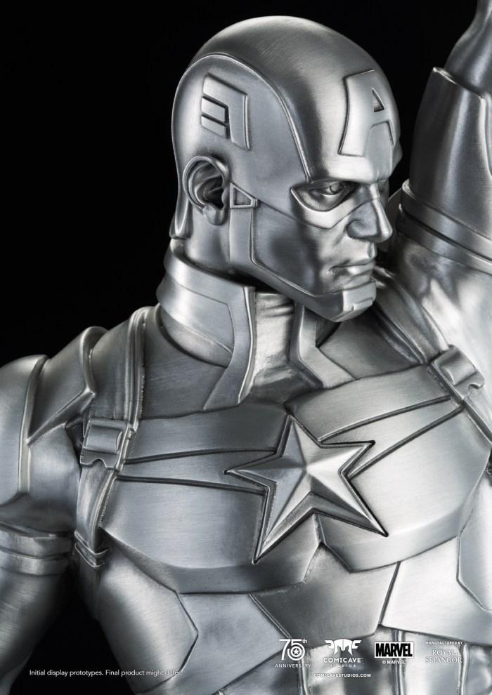 Captain-America-Tribute-Statue-Pewter-Replica-3