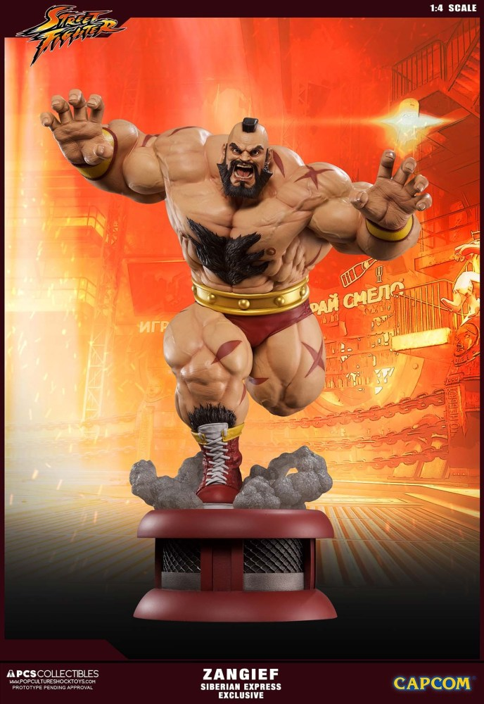 Zangief Street Fighter PCS 3 03