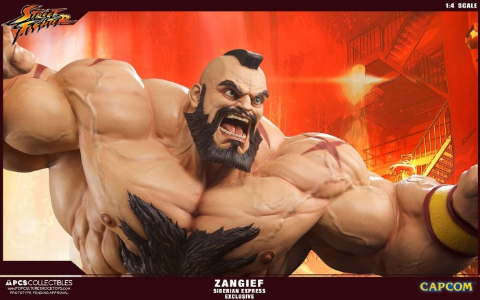 Zangief Street Fighter PCS 3 07