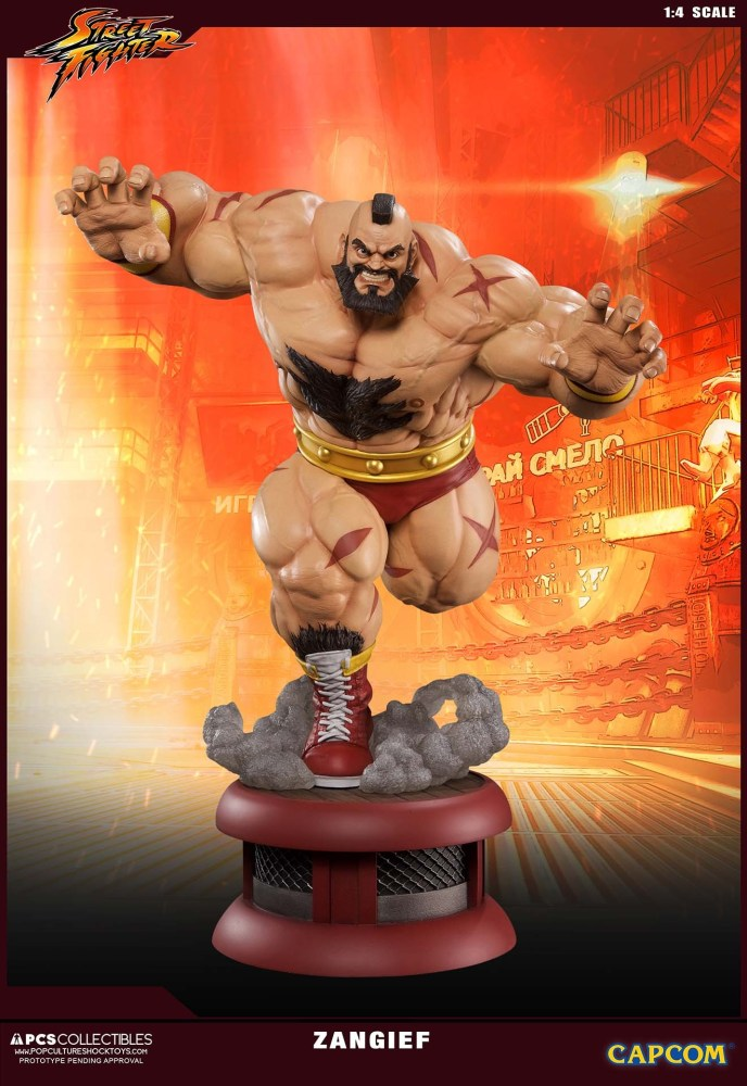 Zangief Street Fighter PCS 3 10