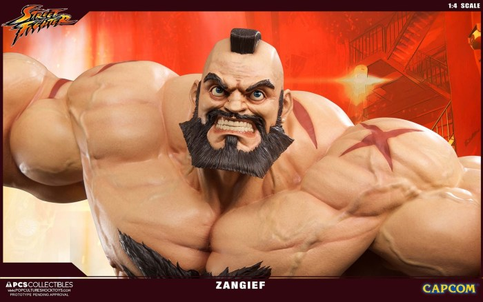 Zangief Street Fighter PCS 3 11