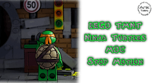 LEGO Ninja Turtles '90 – The Lair Stop Motion by AnkTales