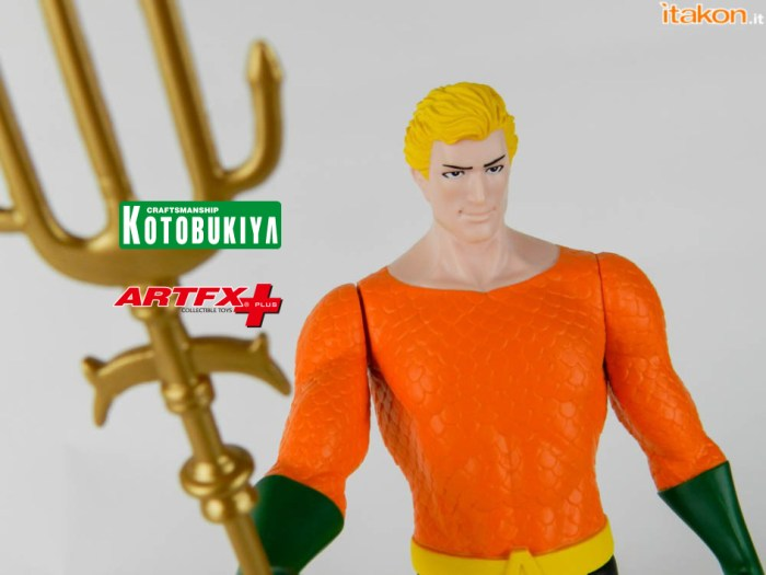 DC Comics: Aquaman Super Powers Classics ARTFX+ di Kotobukiya – Recensione