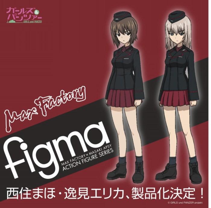 figma Maho Nishizumi ed Erika Itsumi