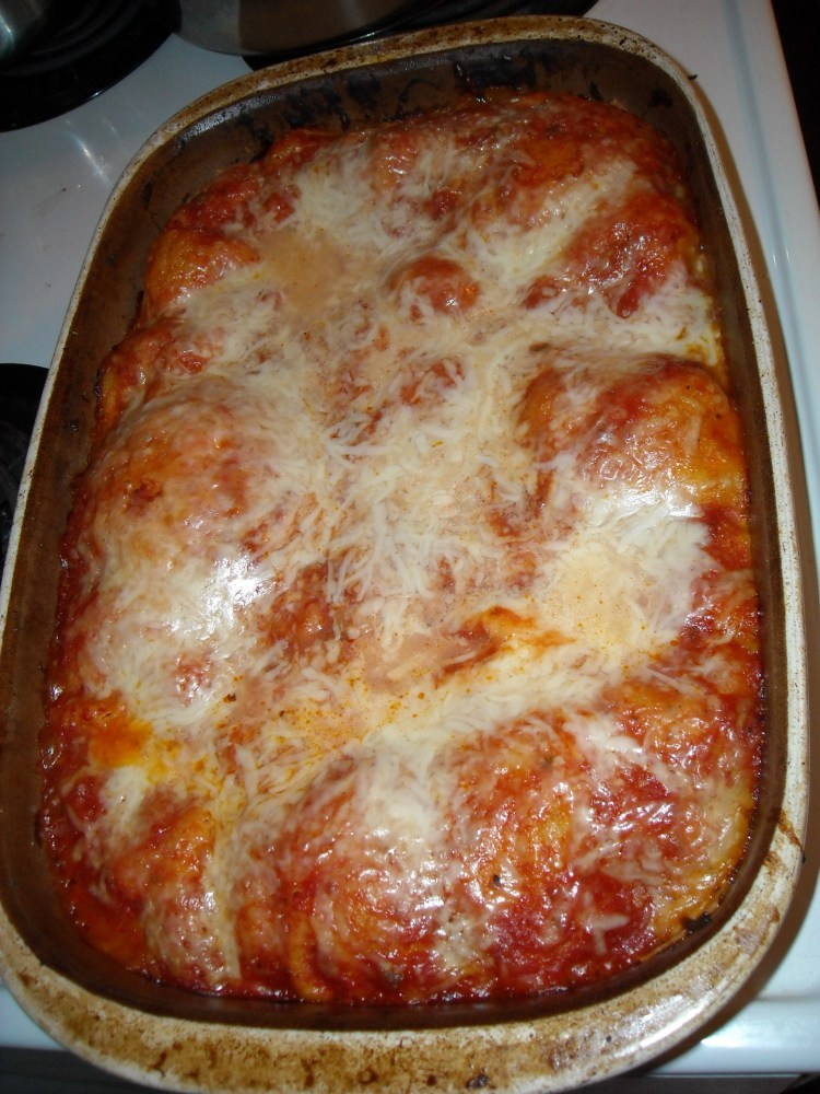 Homemade lasagna (3/3)