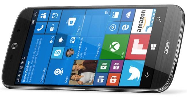 Acer выпустила флагманский смартфон с Windows 10 - Liquid Jade Primo