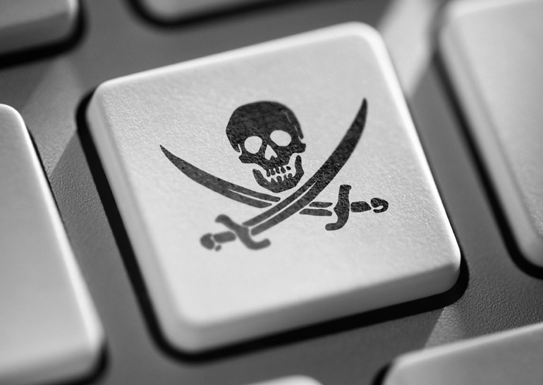 Украина названа самой пиратской страной в мире