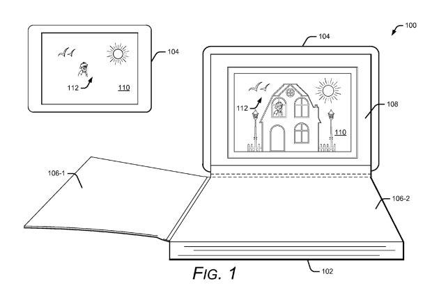 Google запатентовала книги с элементами дополненной реальности